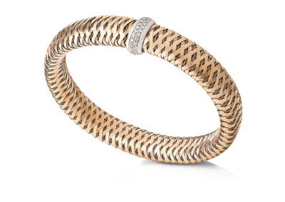 bracelet-roberto coin-or rose-diamant-primavera