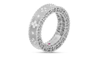 bague-roberto coin-or blanc-diamant-princess