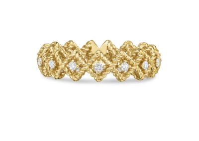 bague-roberto coin-or jaune-diamant-roman barocco