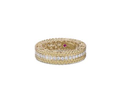 bague-roberto coin-or jaune-diamant-princess